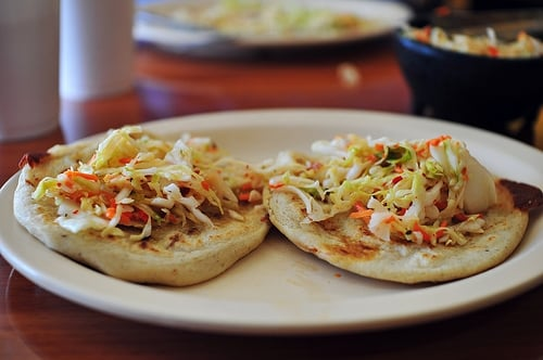 Pupusas+And+Curtido pupusas con curtido masa cakes with cabbage slaw ...
