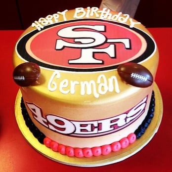 49ers Marble Cake With Cookies Amp Cream Filling Go Niners