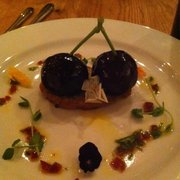 Foie gras w cherry jelly