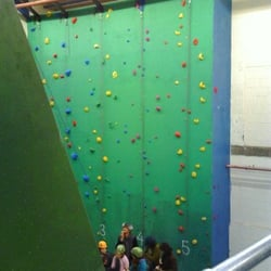The Reach Climbing Wall, London