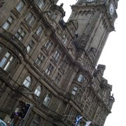 The Balmoral Bar, Edinburgh