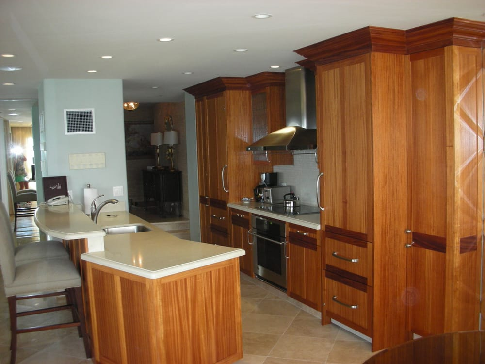african mahogany kitchen cabinets for condo remodel yelp
