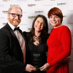 Winning 'Best London Letting Agent' at the Landlord & Letting Awards 2012