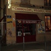 Cassoulet Whisky Ping pong, Lyon, France