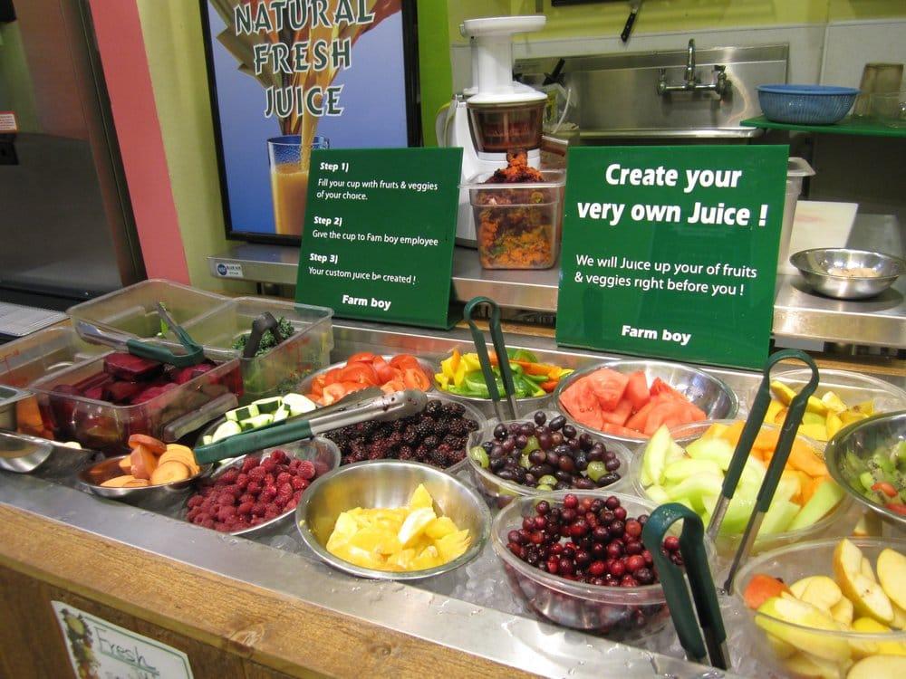 Make Your Own Juice Bar Yelp