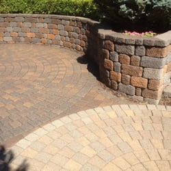 Pavers with Clear Coat and Pavers without Clear Coat