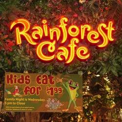 Directions To Rainforest Cafe Burlington Ma