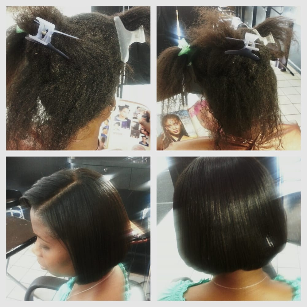 Sew in weave hair salon near me