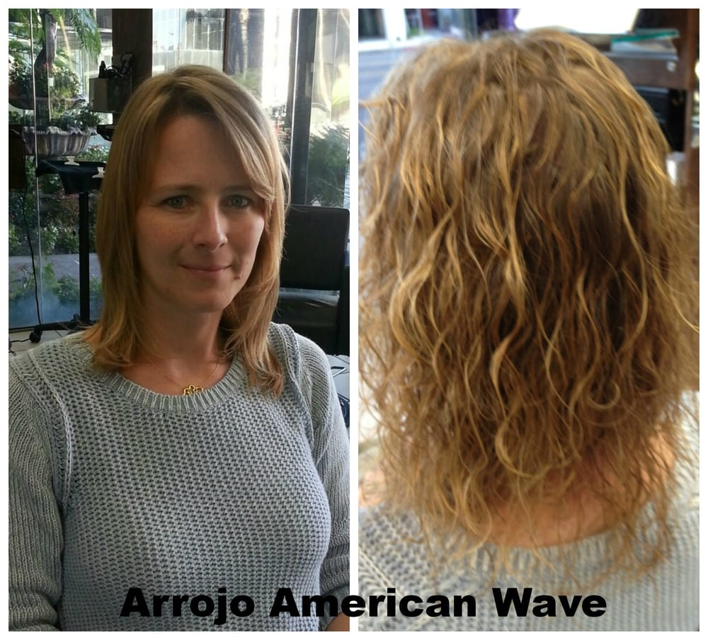 Body Wave Perm Before After