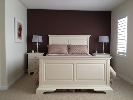 benjamin moore accent colour wall aura paint seashell and french. Black Bedroom Furniture Sets. Home Design Ideas