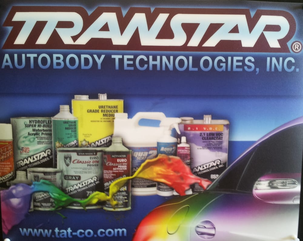 west coast auto body paint supplies is a transtar master