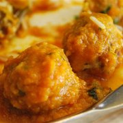 Vegetable kofta.