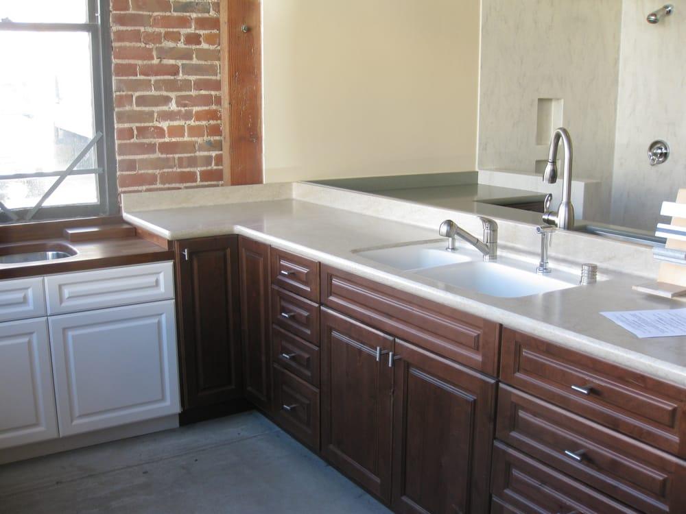 Showroom Corian Countertop With Integral Sink Yelp