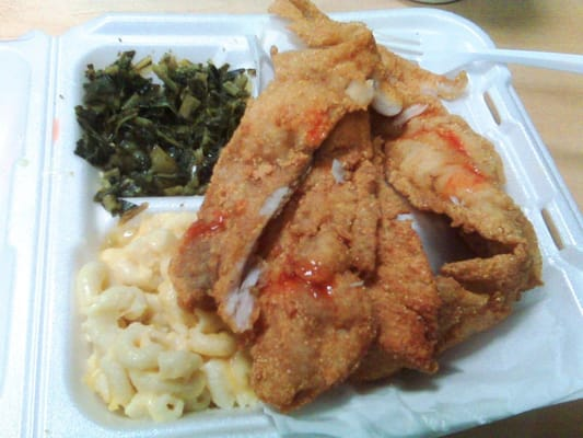 Horace dickie s seafood carryout 44 photos seafood for Fish plates near me