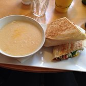 Soup and wrap deal
