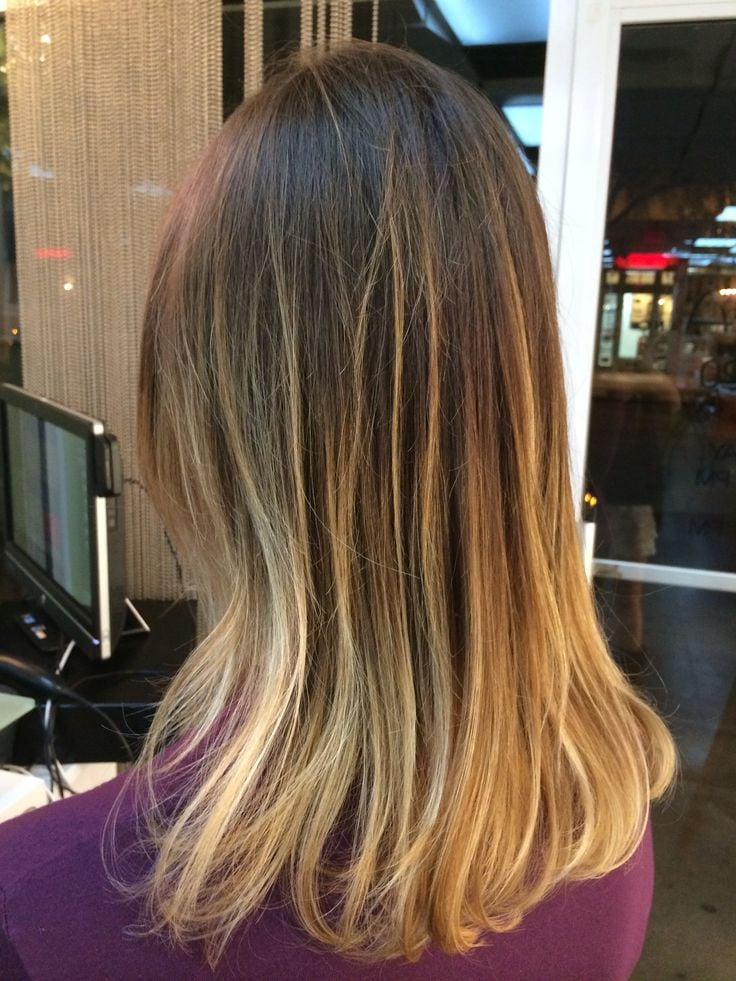 blonde balayage ombre by emilee yelp. Black Bedroom Furniture Sets. Home Design Ideas