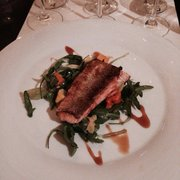 Salmon dish to go with our white wine tastings.