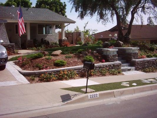 Front Yard Landscaping Hardscape