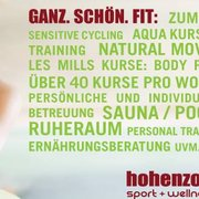 hohenzollern Sport + Wellness Club