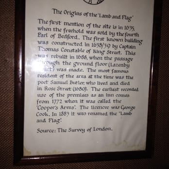 The origins of this pub, one of the very oldest you will ever come across.