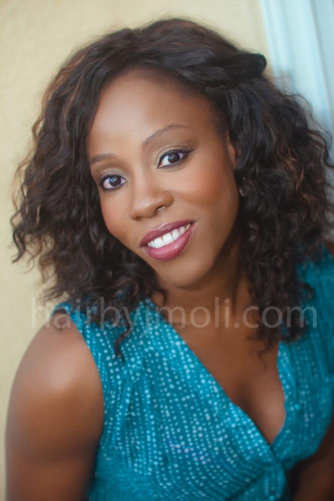 African American Sew in Hair weave extensions. San Diego. Virgin ...