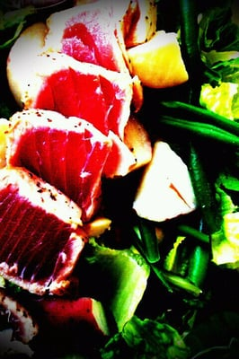 Sushi grade ahi tuna nicoise salad yelp for Where to buy sushi grade fish near me