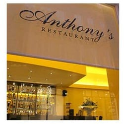Photo taken from www.anthonysrestaurant.co.uk