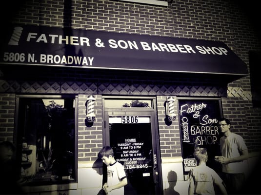 Barber Shop Chicago : Father & Son Barber Shop - Barbers - Edgewater - Chicago, IL - Yelp