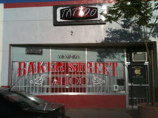 Baker street tattoo tattoo bakersfield ca photos yelp for Inkfatuation tattoo shop bakersfield