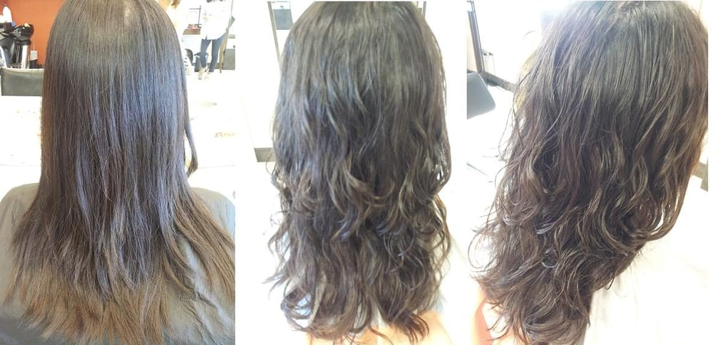 Loose Perm Before and After