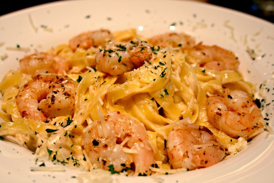 shrimp alfredo pasta | Yelp