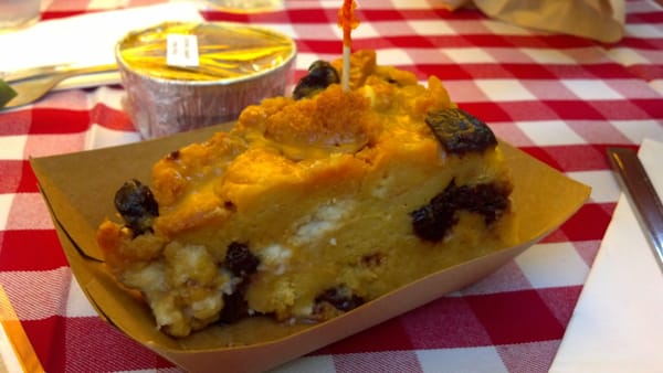Cherry-White Chocolate Bread Pudding, between $5 and $6. | Yelp