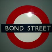 Bond Street Tube Station, London