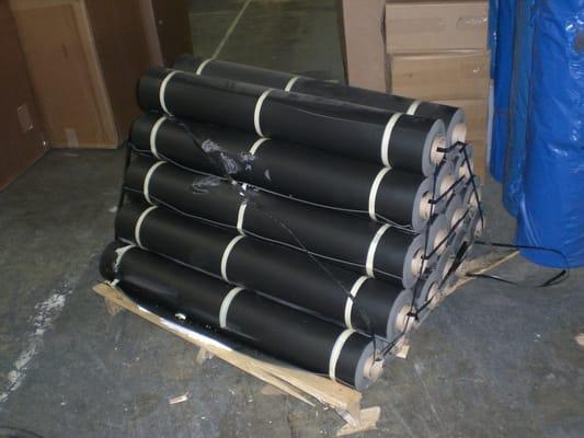 Soundproofing Floors Vinyl : Mass loaded vinyl mlv sound barrier http