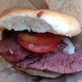 Hot Salt Beef Beigel