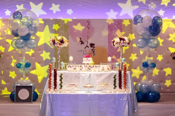 Birthday decorations romantic decoration for 1st birthday hall decoration ideas
