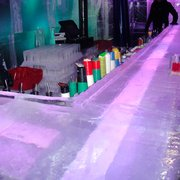 Bar made of ice.