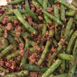 Green Beans & Ground Pork!