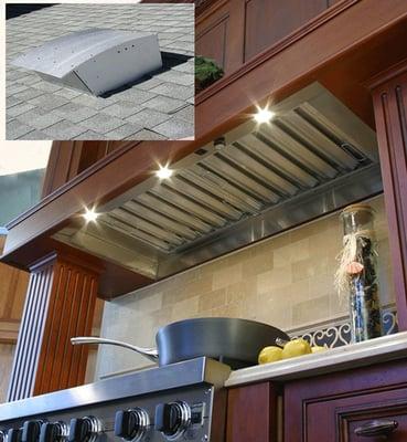 Kitchen Exhaust Fans On Super Quiet Kitchen Exhaust Fan And Range Hood  Insert 1000 And 1400