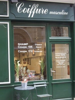 Salon arnaud payel hair salons etienne marcel for Hair salon paris france
