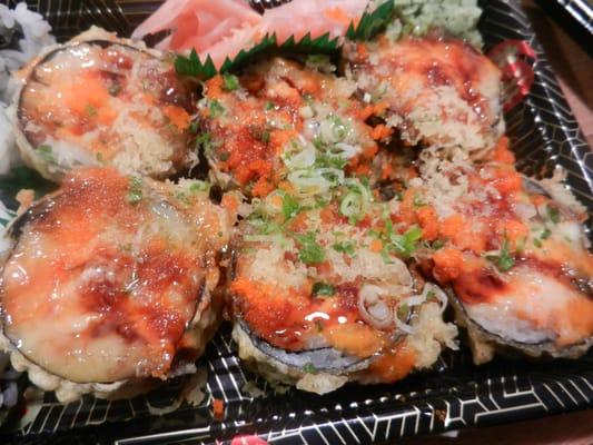 Dynamite Roll | Deep fried, tuna, salmon, yellowtail ...