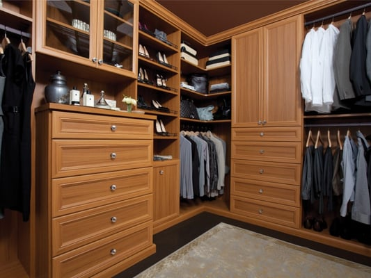 Custom walk in closet system yelp for California walk in closet