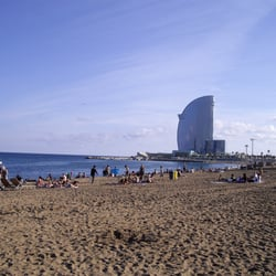 Beach, Barcelona, Spain