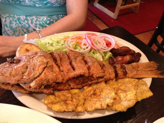 Whole fried red snapper | Yelp