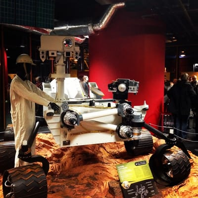 Robot d'exploration - mission Mars