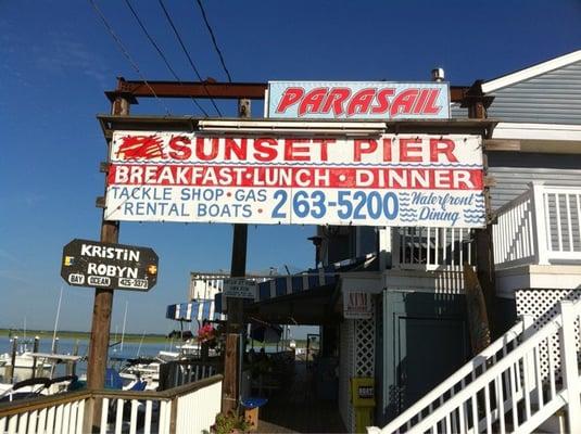 Sunset Pier Restaurant Sea Isle City Nj
