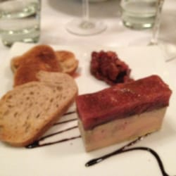 Foie gras with fig compote