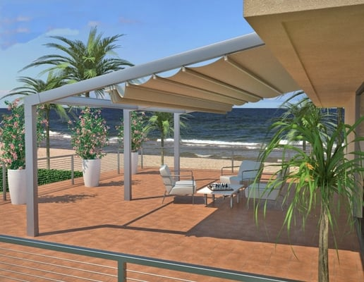 Retractable Water PROOF Patio Cover Systems Yelp
