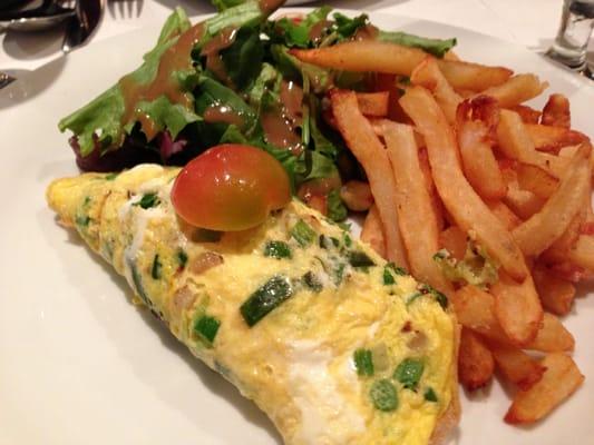 Smoked salmon omelette | Yelp