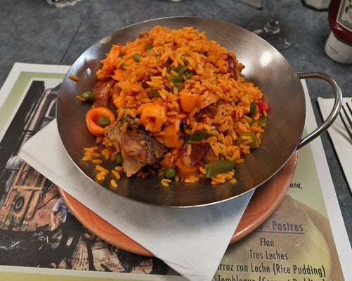 Cuban paella. Some call it the National Dish of Spain | Yelp